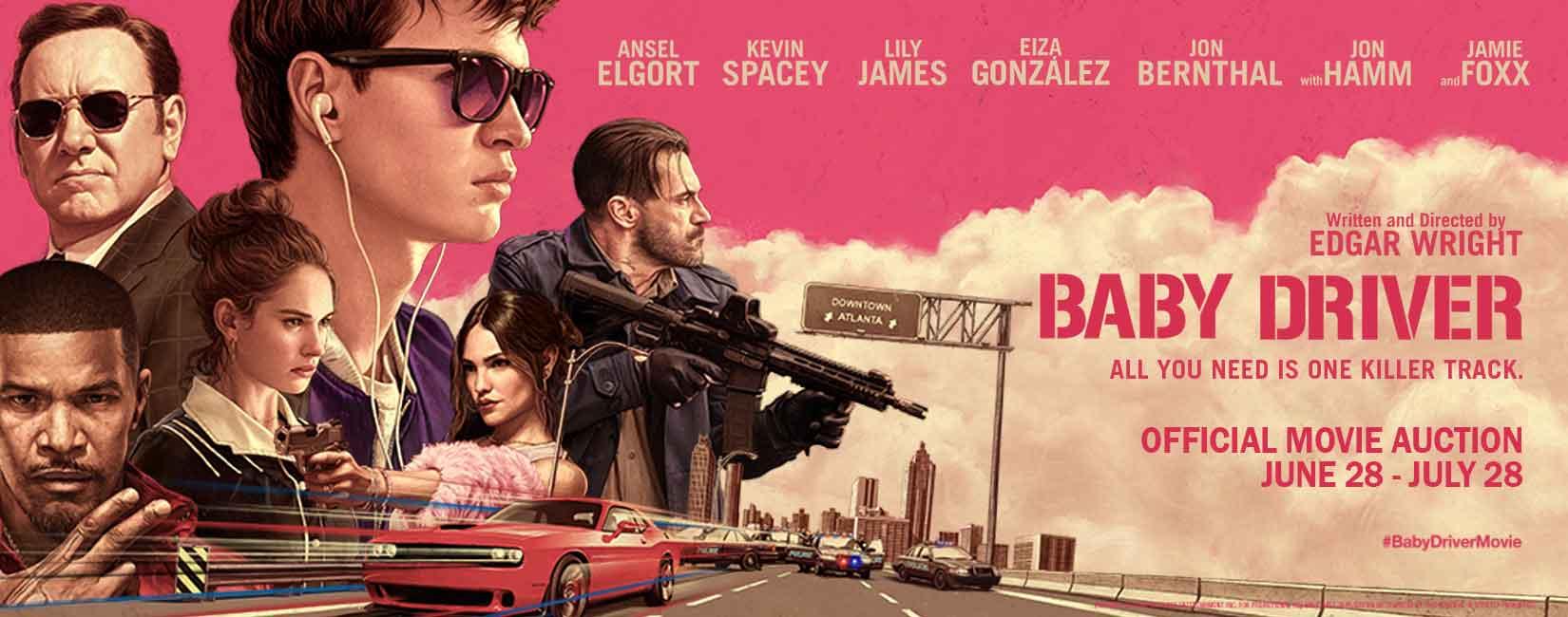 Kuvahaun tulos haulle baby driver film poster
